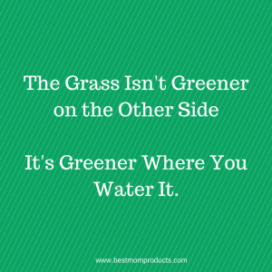 #GrassisGreener #Quote