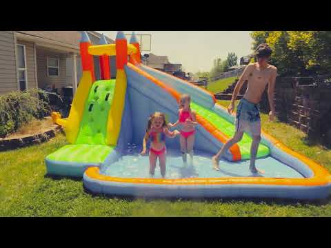 Costway Inflatable Water Slide Bounce House kids Review