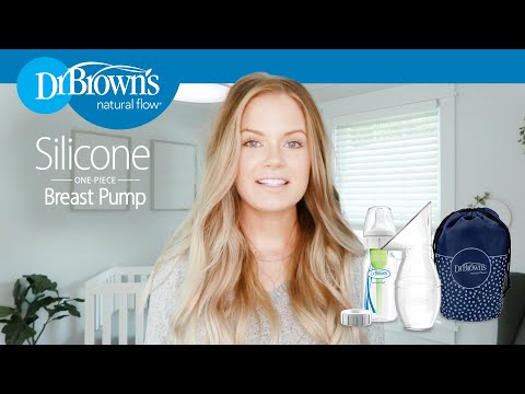 Dr. Brown's® Silicone Breast Pump
