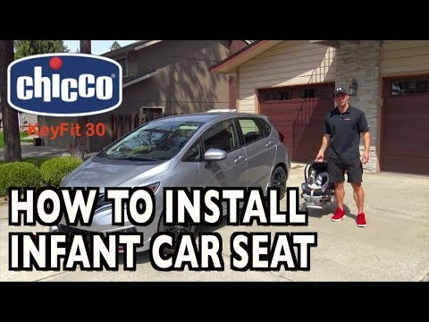 How To Install an Infant Car Seat (featuring Chicco KeyFit 30) on Everyman Driver