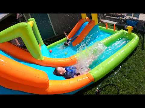 Review on Bountech inflatable waterslide