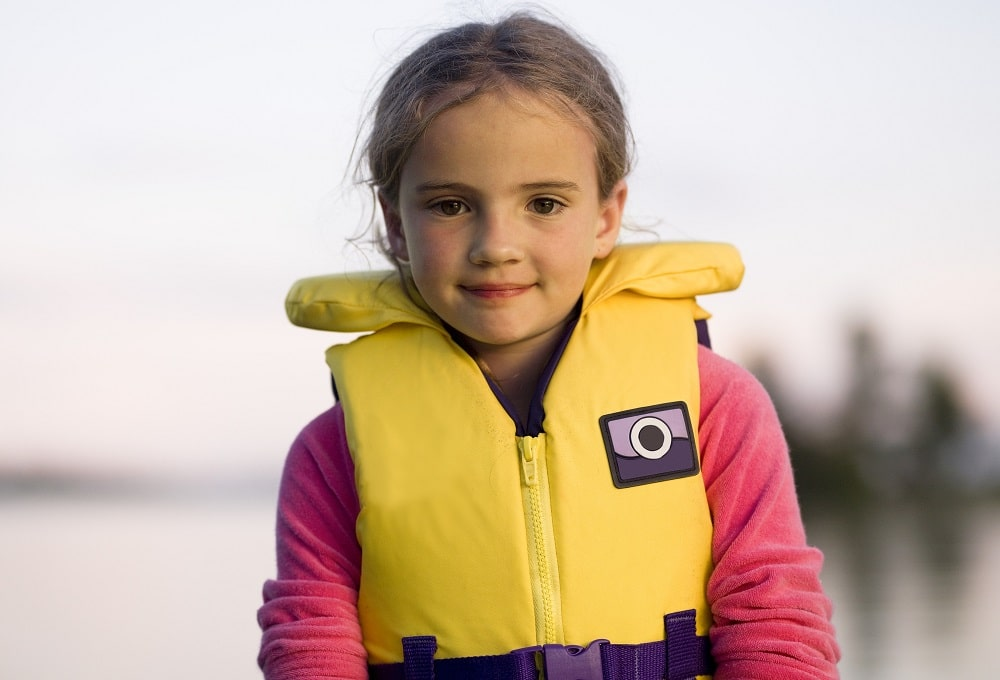 Red /& Yellow Infant Sized Type II PFD Safety /& Life Vest for Boats